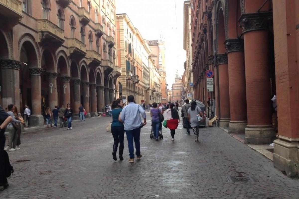 Bologna: il leone rampante simbolo della Città Metropolitana