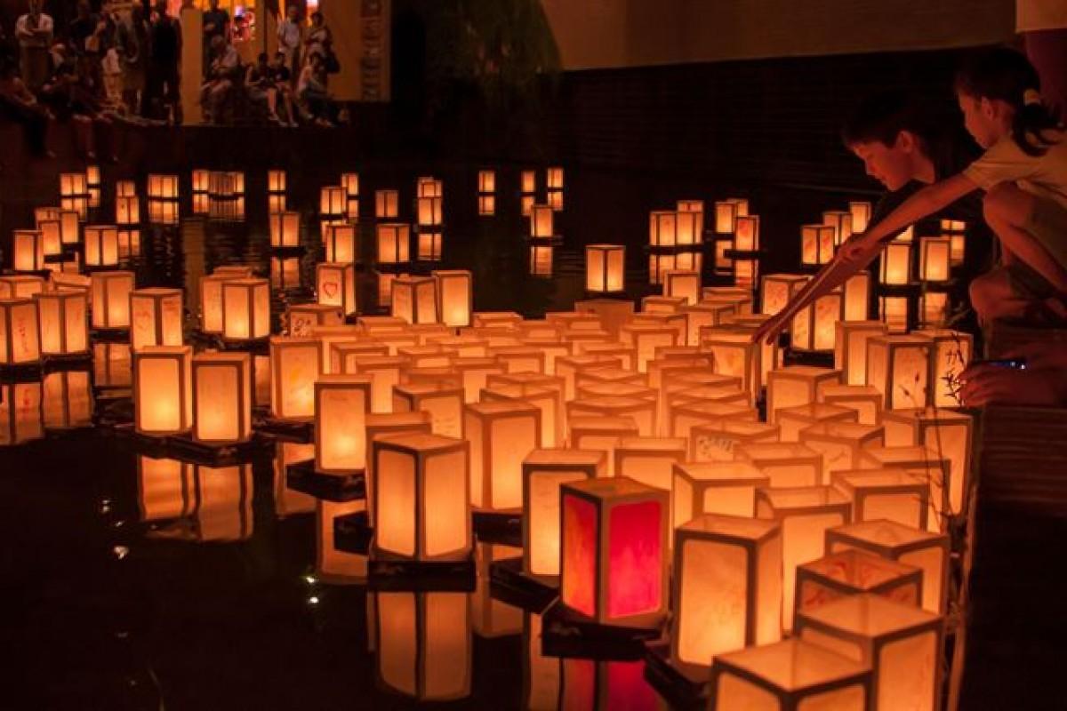 Il Sole di Hiroshima: la cerimonia delle lanterne galleggianti