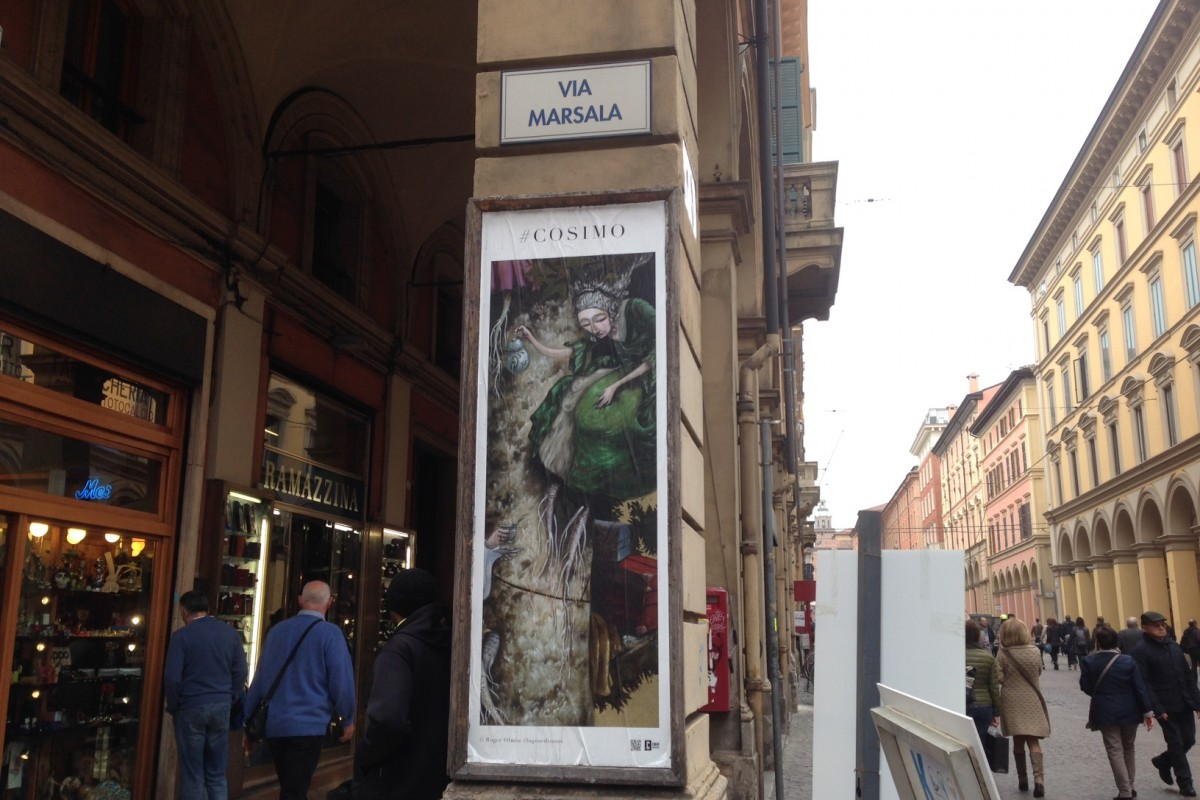 Mostra a cielo aperto: le immagini dei libri per bambini a Bologna