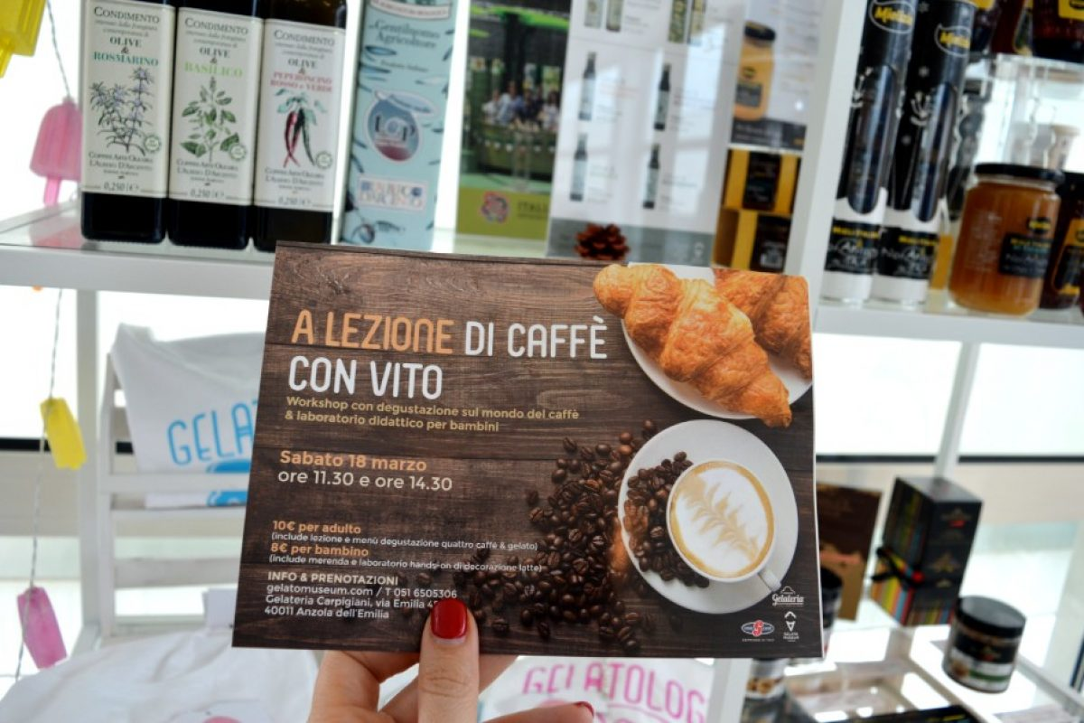 A lezione di caffè: Vito Campanelli al Gelato Museum Carpigiani