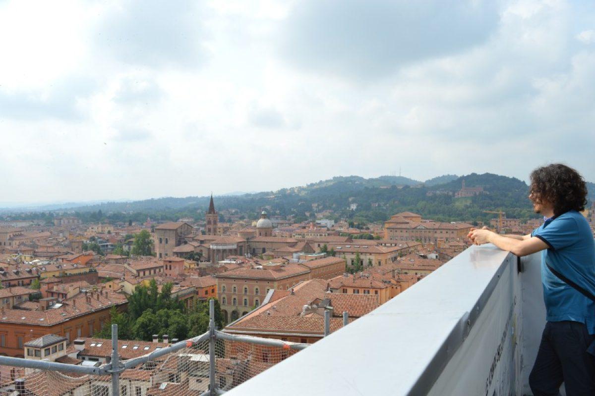 Avete mai visto Bologna dalla terrazza di San Petronio? Noi sì