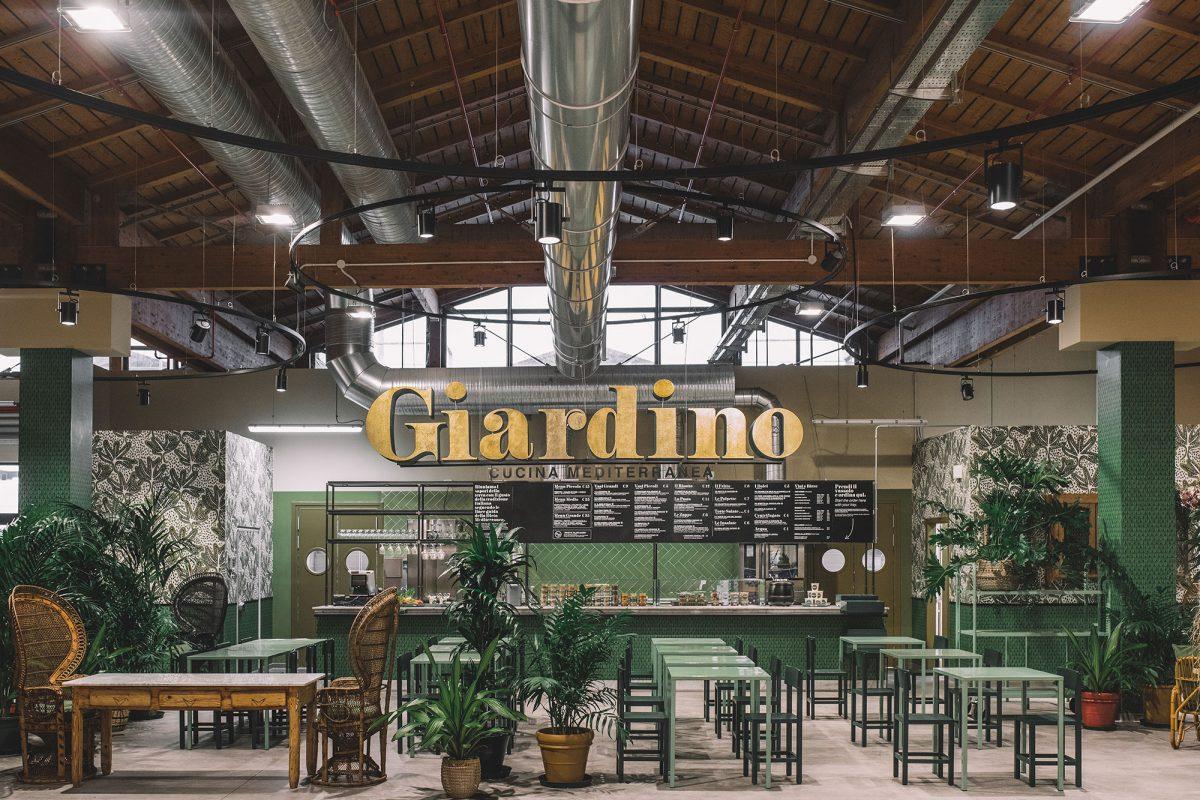 Giardino, il bistrot della cucina vegetale da FICO Eataly World