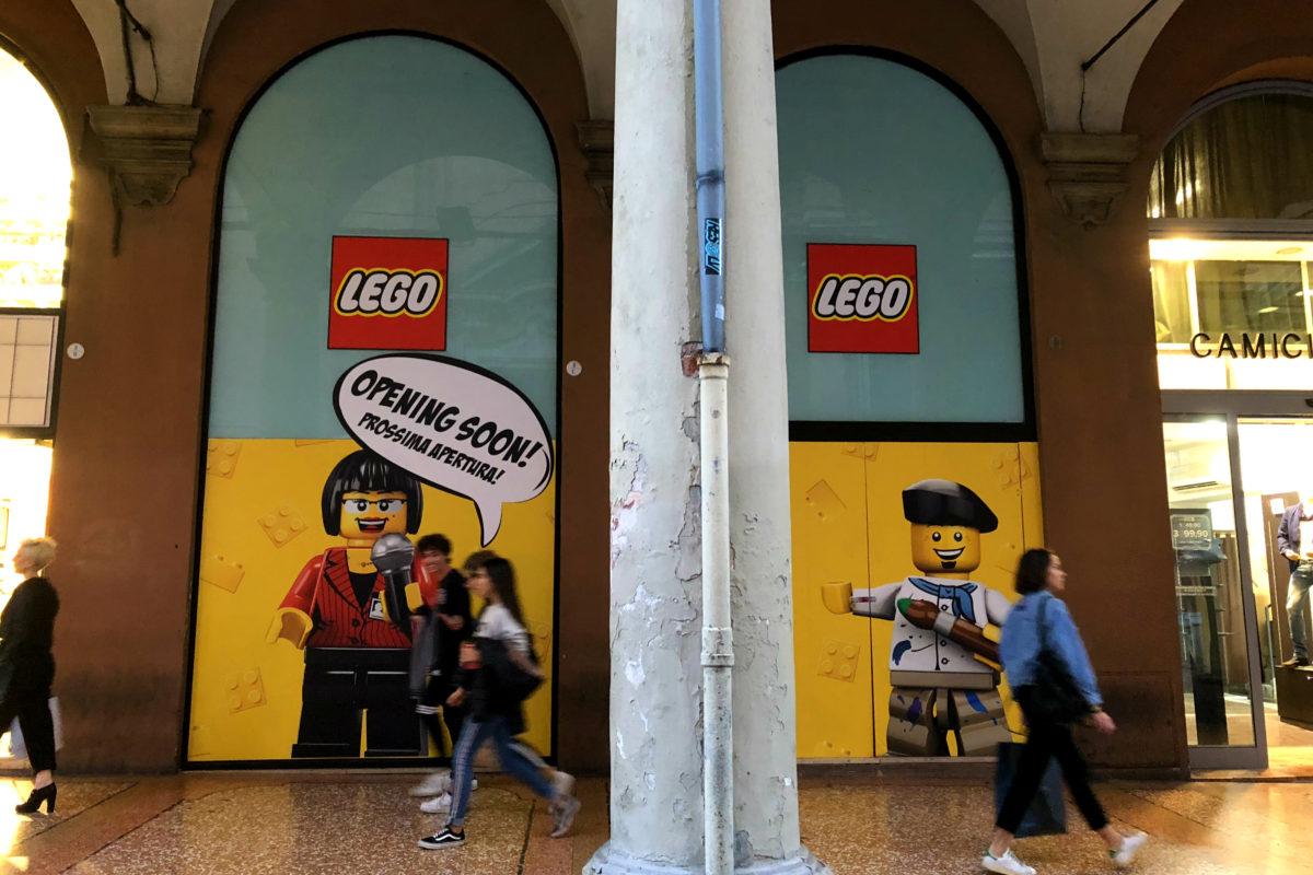 Lego Store presto a Bologna: l'apertura che tutti stanno aspettando