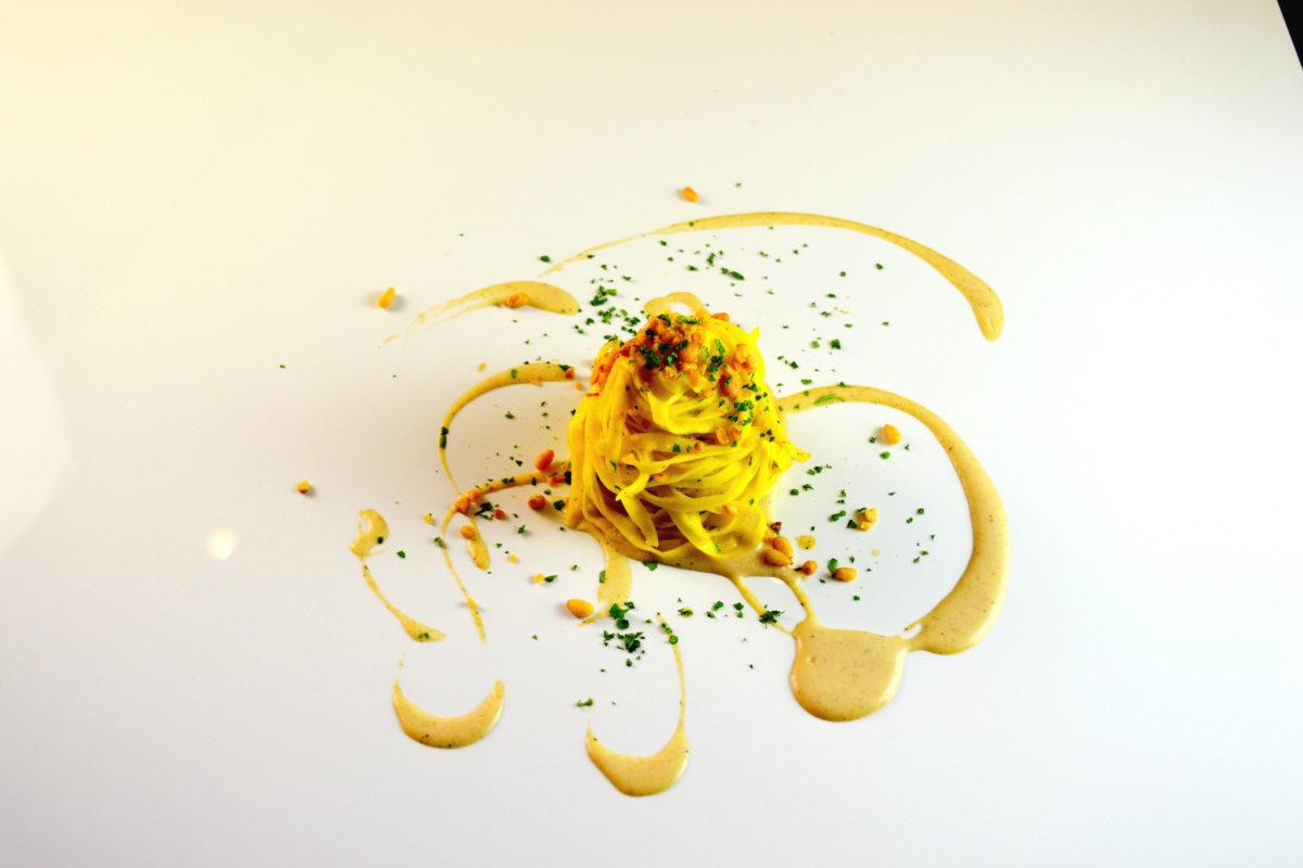 Bottega Portici, pasta fresca e uno chef pluristellato