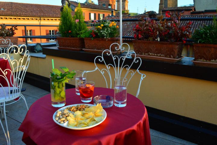 Aperitivo con vista al Best Western Hotel San Donato Bologna