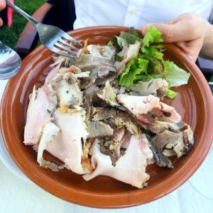 Accademia der Cacio e Pepe: cucina romana in un'oasi verde