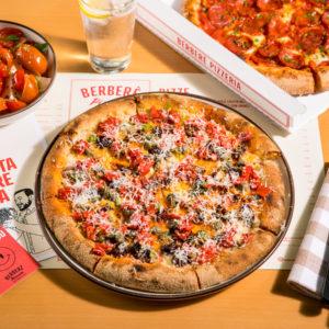 Berberè e la pizza firmata dallo chef stellato calabrese Luca Abbruzzino