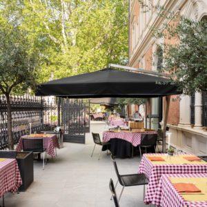 Tornare a godersi un'ottima pizza su una terrazza meravigliosa: Pizzeria Portici