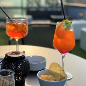 Sky Bar, l'aperitivo con vista dell'NH Bologna de la Gare