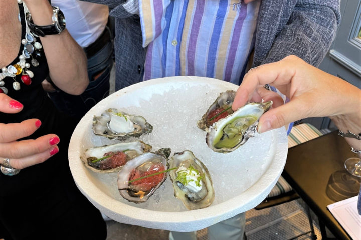 Aperifish: crudi, finger food e bollicine a Bologna