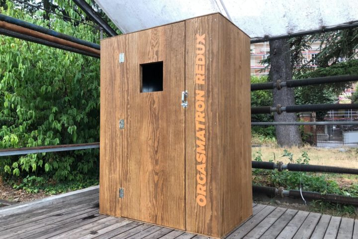 Orgasmatron Redux, la scatola del piacere e del desiderio è arrivata a Bologna